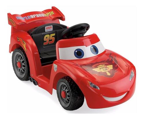 power wheels disney cars mcqueen carro eléctrico niños