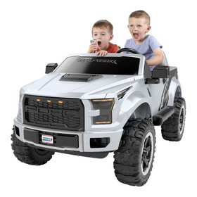 Power Wheels Ford F-150 Raptor Carro Eléctrico Infantil