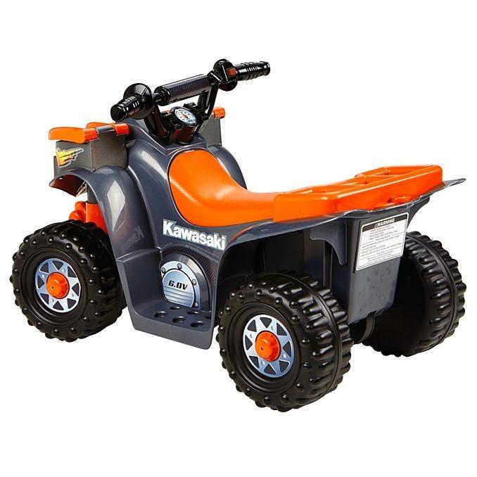 Power Wheels Kawasaki Lil 'quad Carro Eléctrico Niños