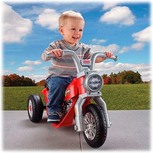 power wheels lil harley moto juguete eléctrica niños