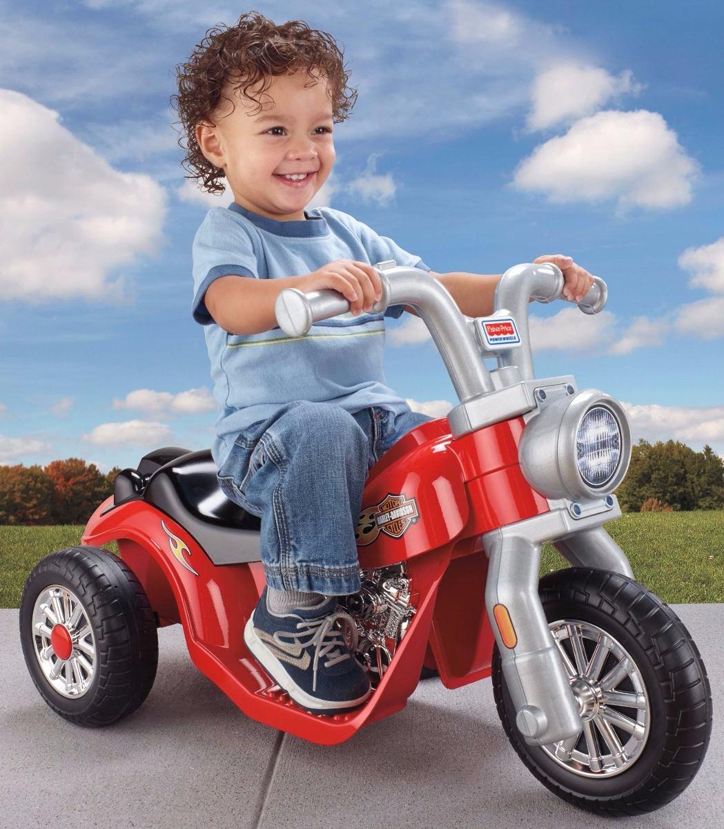 Power Wheels Lil Harley Moto Juguete El 233 Ctrica Ni 241 Os