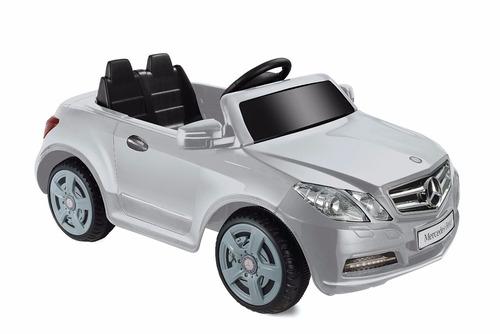 power wheels mercedes benz e550 6v, silver