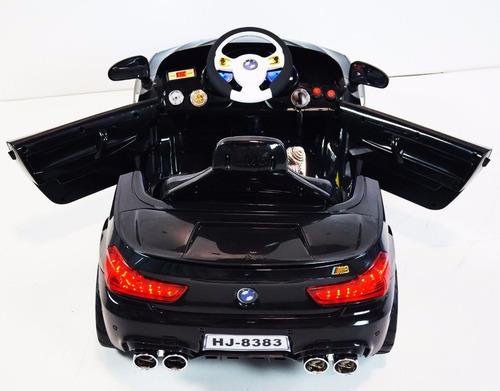 power wheels new bmw hj8383 black ride-on car for children 2