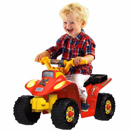 power wheels nickelodeon blaze quad carro juguete eléctrico