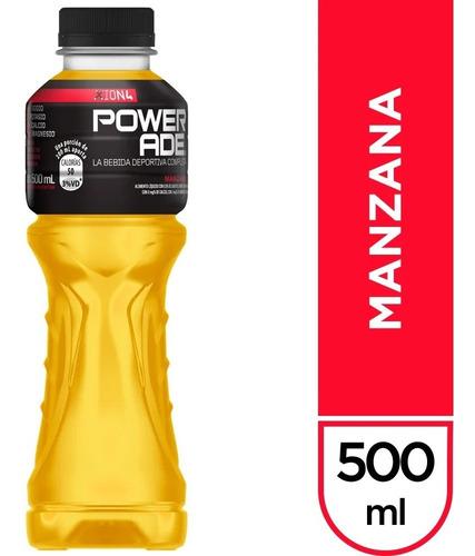 powerade 500 ml (azul / rojo / manzana) x 20 packs