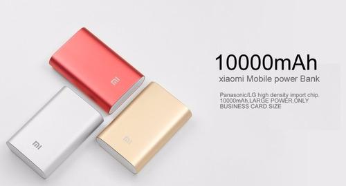powerbank 100% original xiaomi de 10.000mah