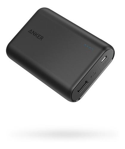 powerbank portátil anker powercore 10000mah poweriq 2.4a usb