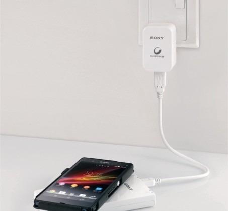 powerbank sony inalambrico de 5000 mah cp-w5