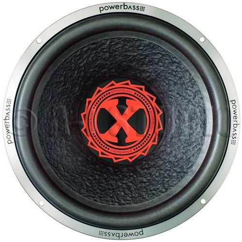 powerbass 3xl-121d 12  1 ohm subwoofer