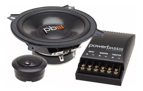 powerbass componentes s-50c , 5 pulgadas
