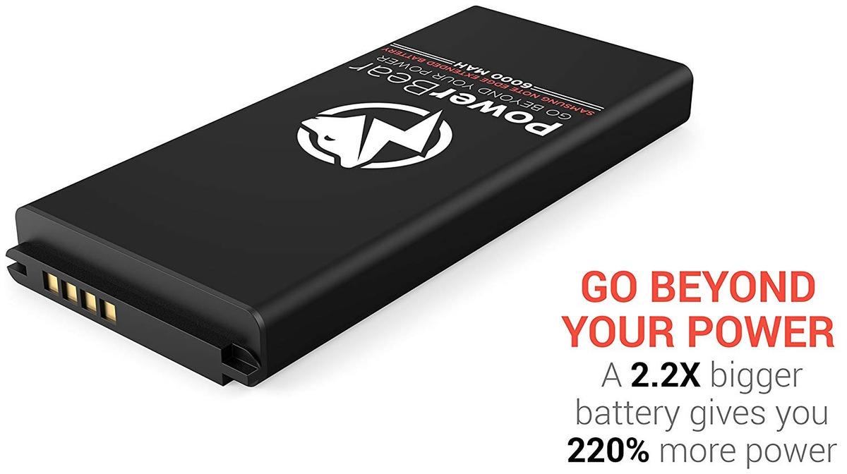 sale retailer 35a40 c9604 Powerbear Samsung Galaxy Note Edge Extended Battery [6000mah