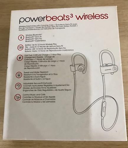 powerbeats 3 wireless na caixa, lacrado, pronta entrega.