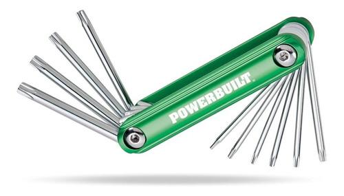 powerbuilt 940.954 plegable llave de la estrella de juego de