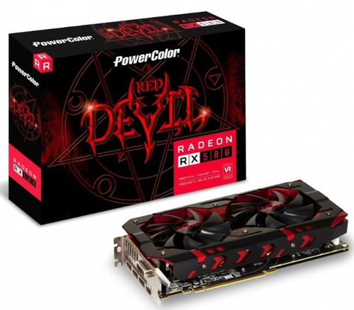 powercolor amd radeon red devil rx 580 8gb gddr5