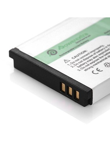 powerextra 2 paquete de alta capacidad de 1200mah recargable
