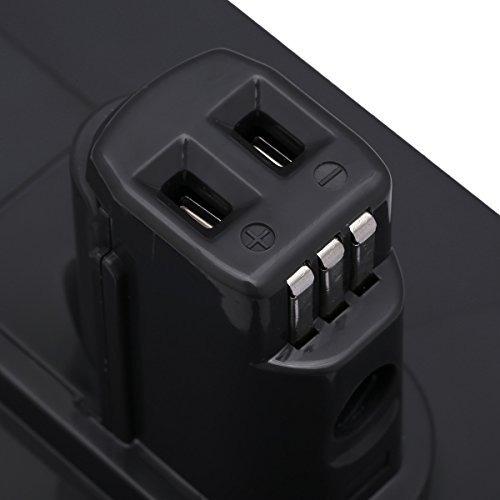 powerextra actualizó la batería de repuesto de 222v 3000ma