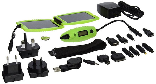 powertraveller powermonkey explorer solar car + envio gratis