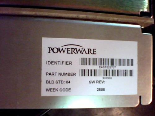 powerware wr1500-55