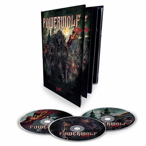 powerwolf the metal mass box con 2 dvd + cd nuevo importado