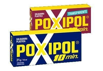 poxipol adesivo cola epoxi pastoso cinza 14ml 21g