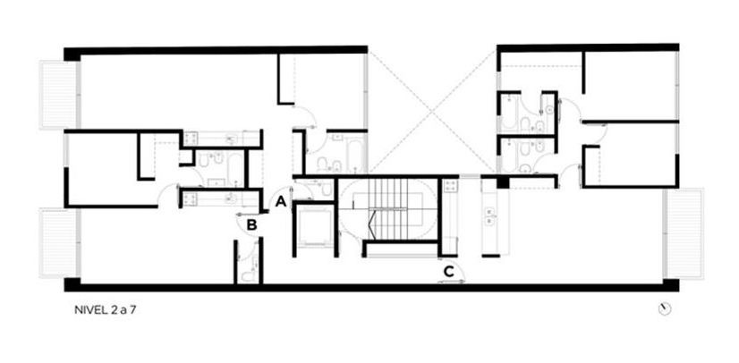 pozo 2 amb. c/cochera y amenities - belgrano