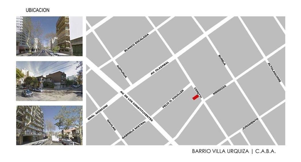 pozo 2 ambientes -cochera opcional - villa urquiza