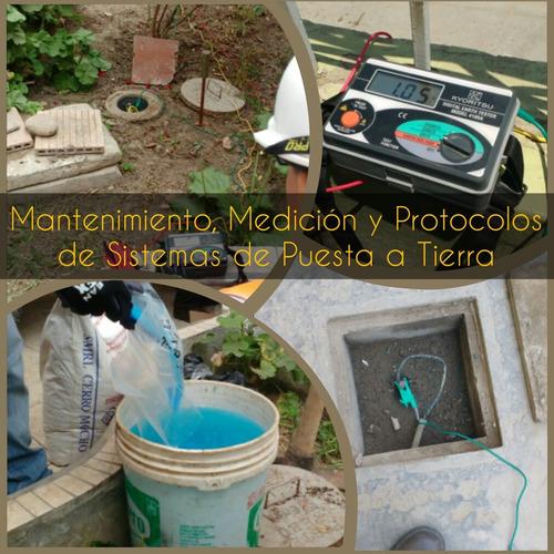pozo a tierra medición protocolo instalación y mantenimiento