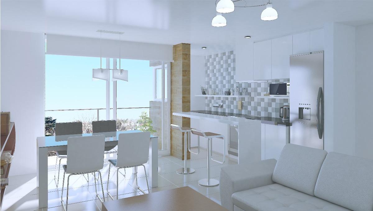 pozo departamento dos ambientes 60m2 construcción en güemes