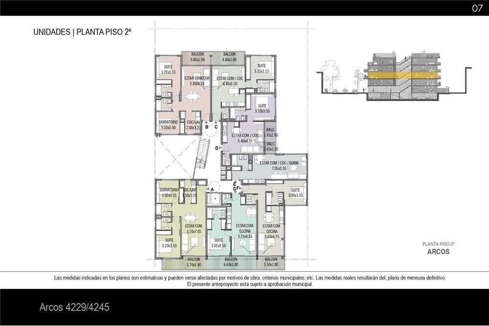 pozo obra  2 ambientes - cochera opcional - nuñez