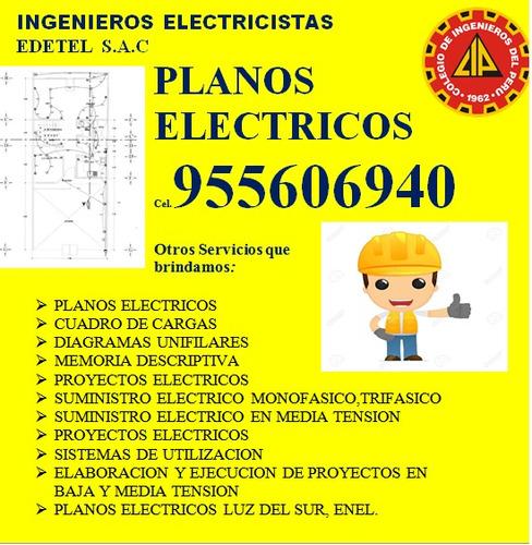 pozo tierra-planos ( ingeniero electricista)  955606940