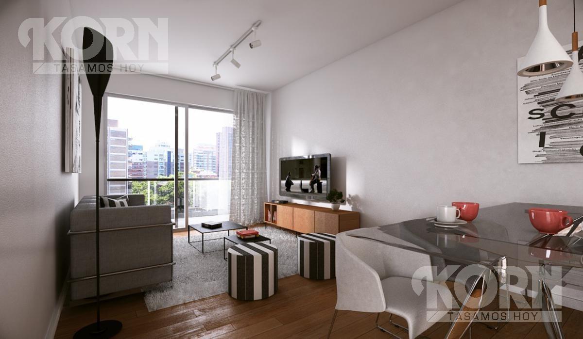 pozo - venta departamento de 2 ambientes con terraza en belgrano - apto profesional