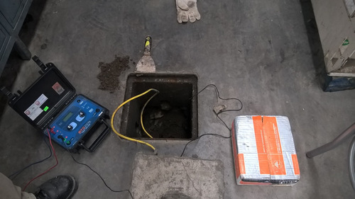 pozos a tierra telurometro megometro electricidad cableado