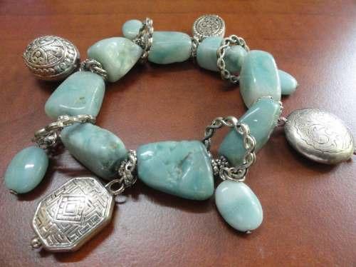 pp900 bellisimas pulseras de piedras de colores