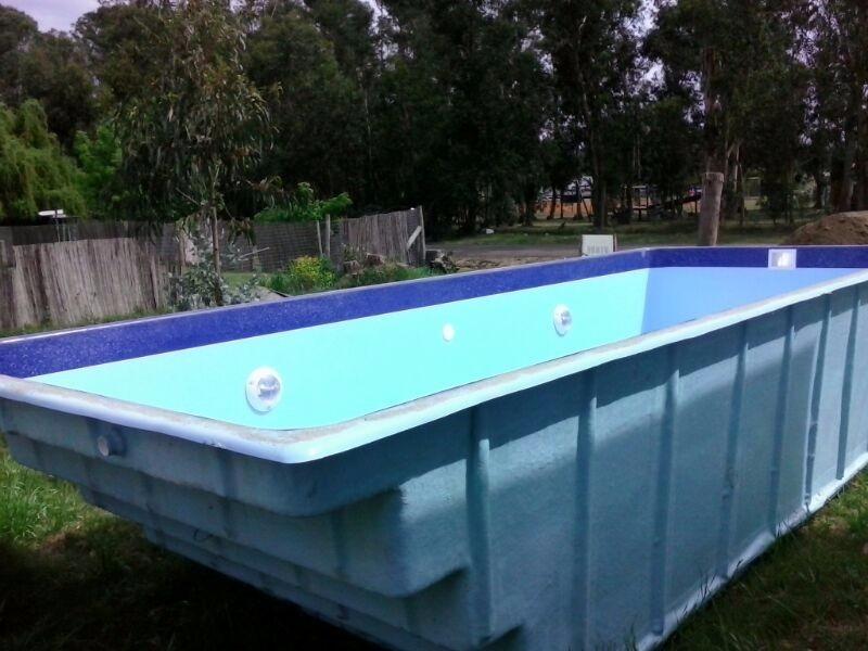 Ppiscina fibra vidrio varios modelos y medidas u s for Costos de piscinas