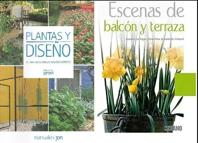 Pplantas Y Diseño Escenas De Balcon Y Terraza Pack X2