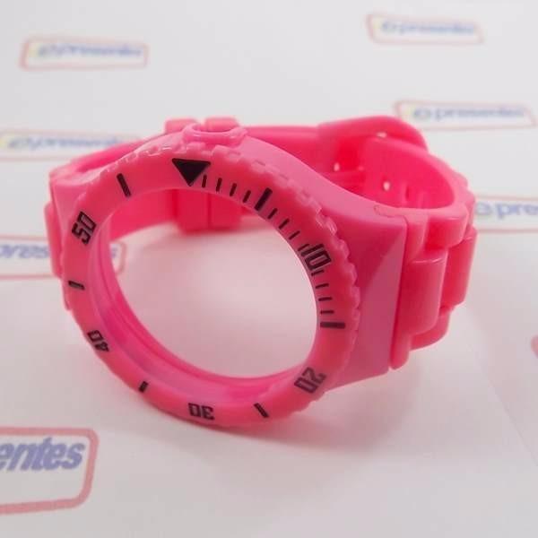 7e52868a07a Pr30119d Pulseira Champion 100% Original Pink Rosa Brilhante - R  26 ...