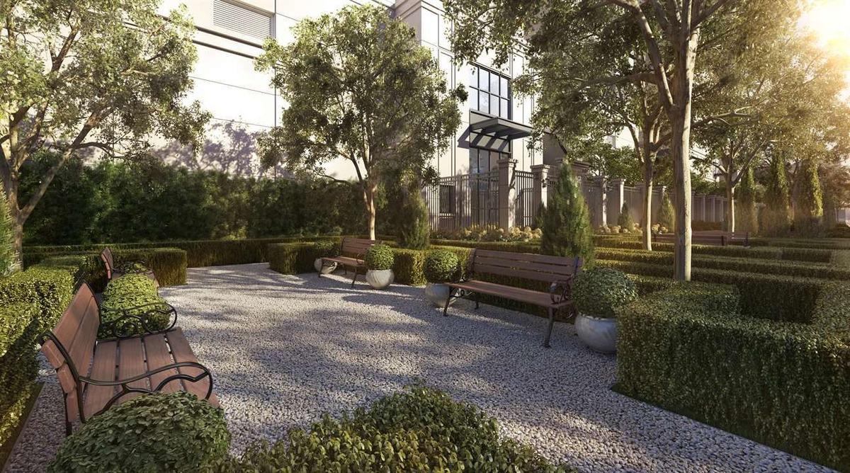 praças da cidade, apartamentos na planta, com 55m e varanda.