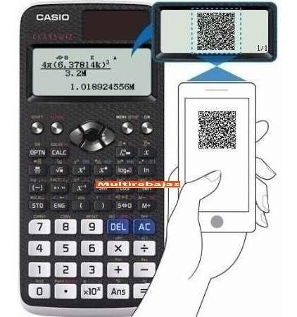 practica calculadora casio fx-991la x classwiz, 552 funcion