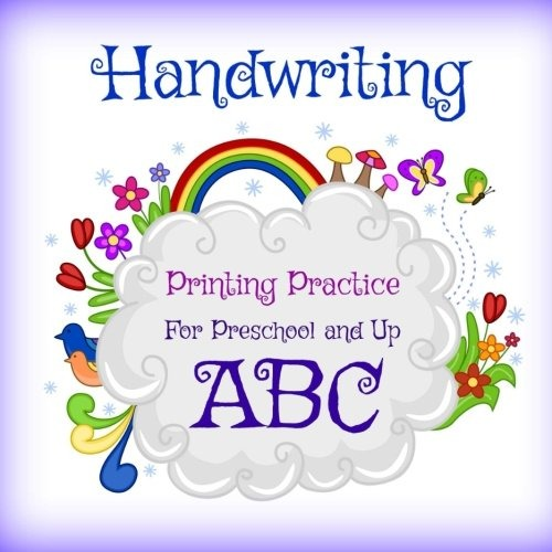 Práctica De Impresión De Escritura A Mano: Para Preescolar Y ...