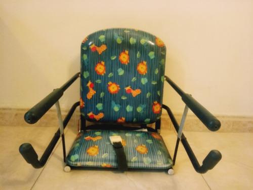 practica silla para bebe para comer