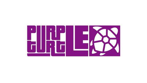 practicable de 8  c/atril purple turtle