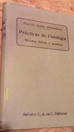 prácticas de fisiología , métodos fisicos y químicos