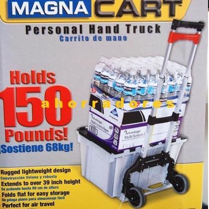 practico diablito abatible de aluminio magna cart