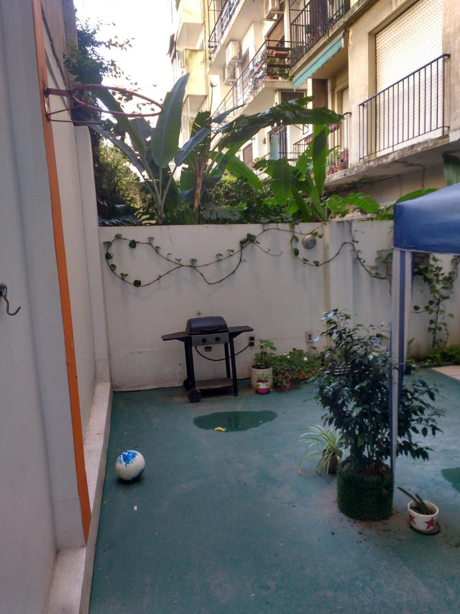 practico y moderno dpto 3 dorm. 72m2 y patio de 37m2 almagro
