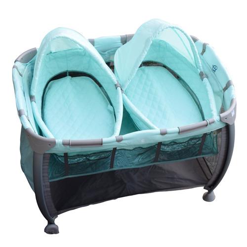 practicuna plegable cuna bebe mellizos mega baby con moisés