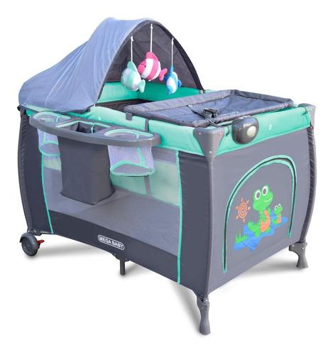 practicuna plegable mega baby premium cambiador organizador
