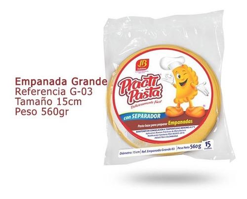 practipasta - masa para empanadas g - unidad a $220