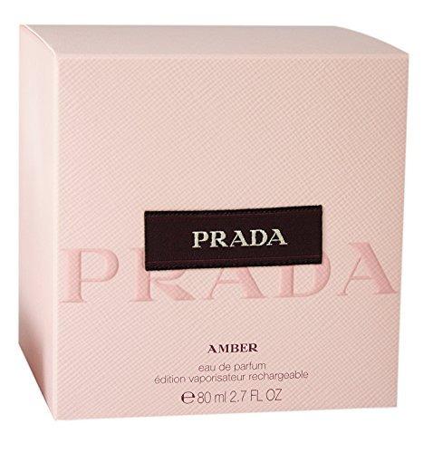 prada amber de prada para mujer eau de parfum spray 27 onzas