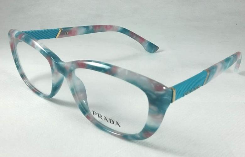 Prada Armação Feminino Óculos De Grau Acetato - Tr7051 - R  98,90 em ... 35ab2cd144