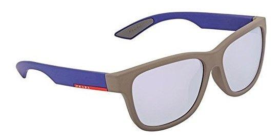 Hombres Espejo Prada Gris De Azul Sol Rectangular Gafas Ps03 cTl1J3uFK
